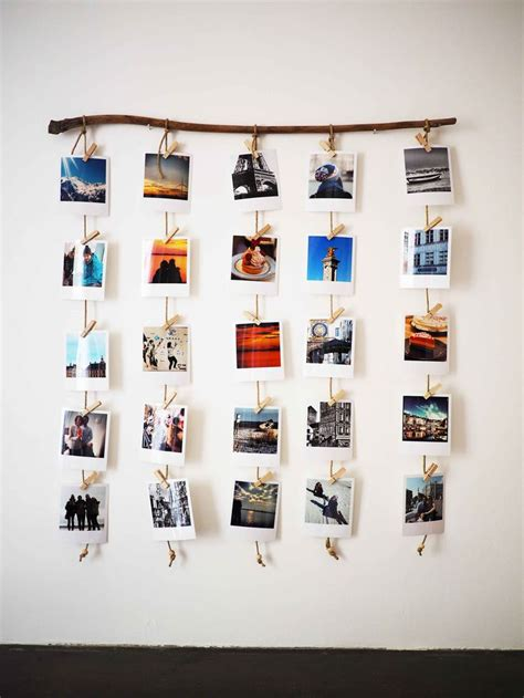 how to hang polaroid lights best 25 picture string ideas on pictures on string photos on wall and college room