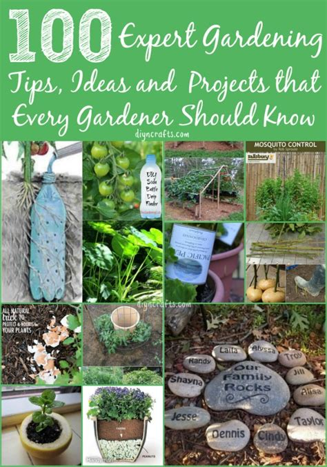 gardening crafts for 100 expert gardening tips ideas and projects that every