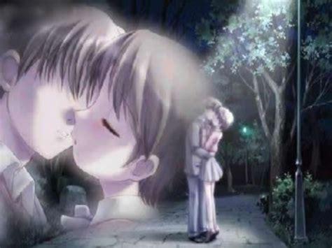 imagenes de amor animadas japonesas im 225 genes romanticas de besos anime