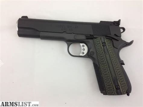 Springfield 1911 Range Officer Review by Armslist For Sale Springfield 1911 Range Officer With
