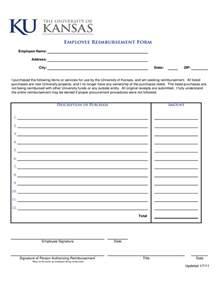employee expense reimbursement form 3 free templates in