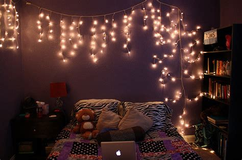 bedrooms with christmas lights fairylight on tumblr