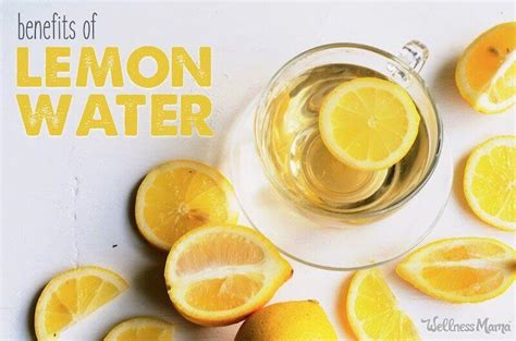 health benefits  lemon water    drink