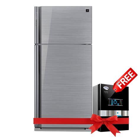 sharp inverter refrigerator sj exp sl  esquire