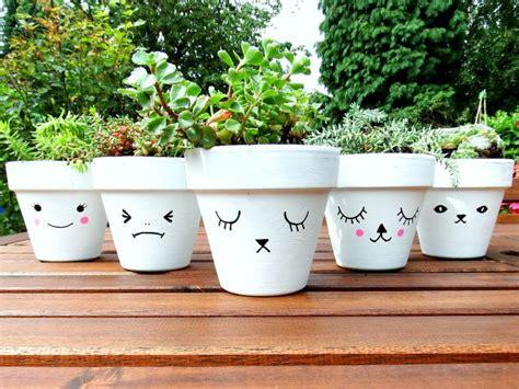 Painting Garden Pots Ideas Best 25 Painted Plant Pots Ideas On Painted Flower Pots Terracotta Plant Pots And