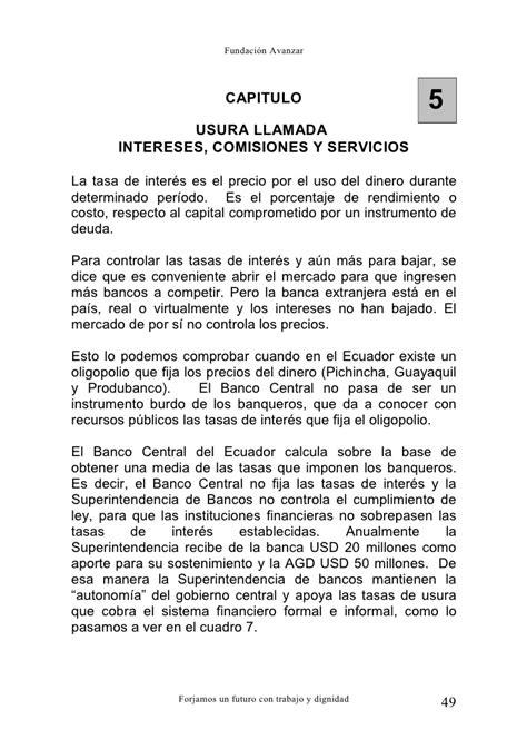 La Banca Pi羅 Conveniente by La Banca De La Usura Al Narcolavado