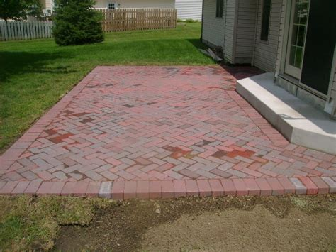 Brick Patios Designs Landdesignlandscaping Custom Patios And Retaining Walls