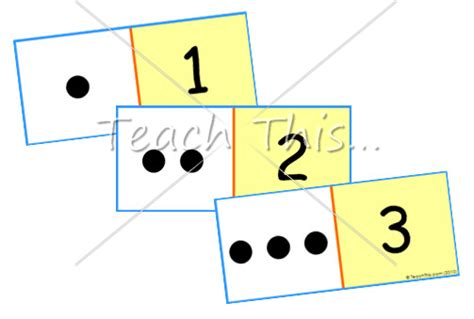 Math Dot Card Templates by 5 Best Images Of Printable Dot Cards 1 10 Free Printable