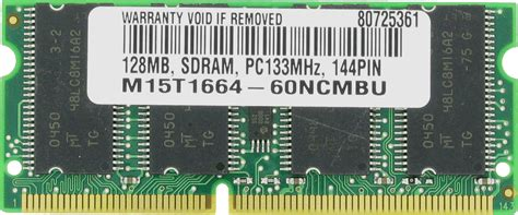 Ram Pc133 100 128 64mb 128mb sdram memory ram pc133 sodimm 144 pin 133mhz ebay