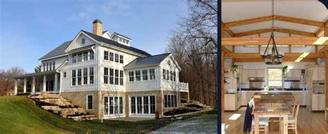 Custom Built House Plans Virginia Timber Frame Homes Riverbend