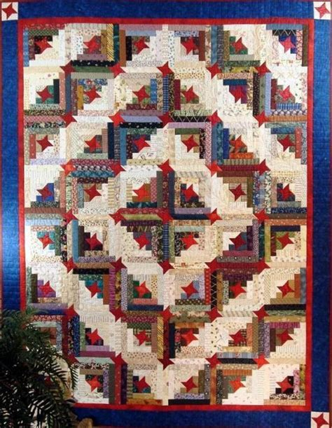Quilt Traditions by Make This Scrappy Log Cabin Quilt Special Quilting