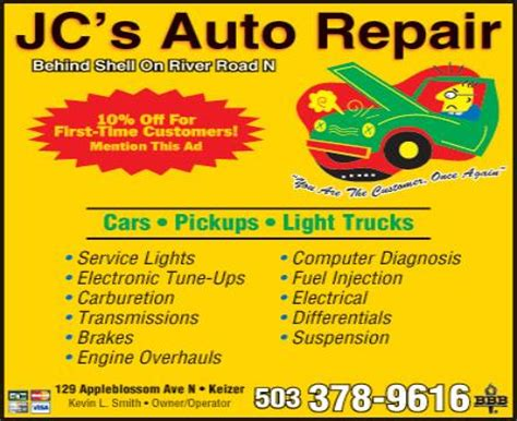 car service ad download repair manual auto repair ads