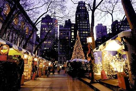 weihnachtsmarkt new york rockefeller christmas the top 6 artisan markets in nyc for your sustainable gift shopping bryant park