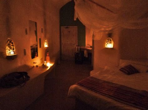 candle lit room hotels feynan ecolodge fitzsimmons