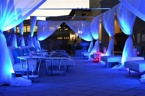 quinceanera themes miami miami themed rooftop party lounge area with couches