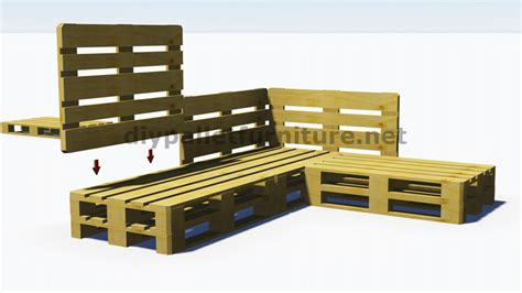 instructions for pallet couch instructions and 3d plans of how to make a sofa for the