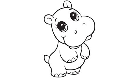 coloring page hippo bulky mammals 30 hippopotamus coloring pages hippo
