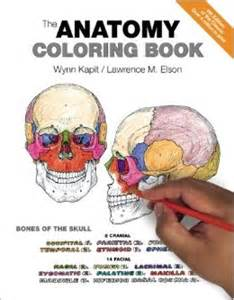 anatomy coloring book kapit the anatomy coloring book 9780321832016 medicine