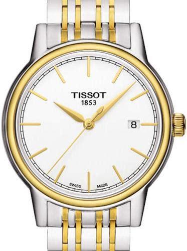 Tissot T0854102201100 Carson Quartz Silver Gold t classic carson 2 tone t085 410 22 011 00 tissot