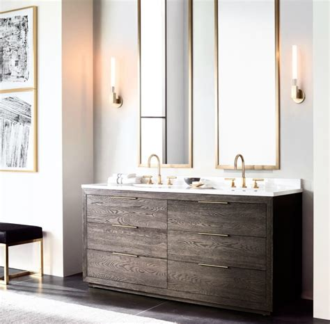 Modern Bathroom Cabinets The Luxury Look Of High End Bathroom Vanities