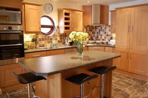 village houses carrigart self catering cottage donegal ireland home improvements refference small kitchen island with breakfast bar