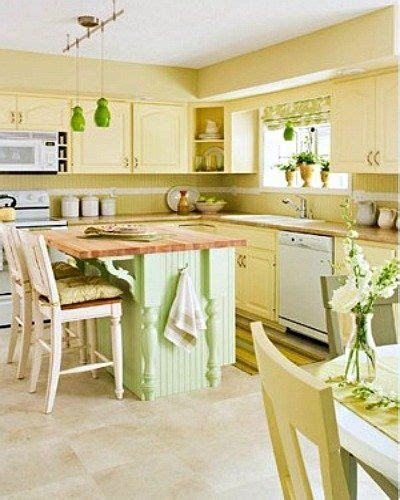 yellow kitchen ideas yellow and green country style kitchen i love the wall