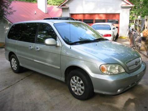 Kia Sedona 2005 Problems Buy Used 2005 Kia Sedona Lx Mini Passenger 5 Door 3 5l