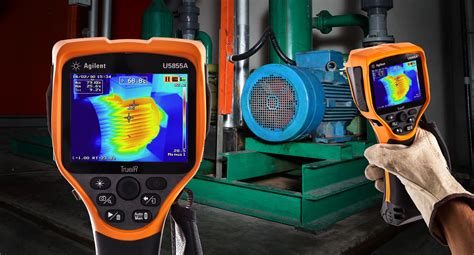 thermal imager agilent technologies announces new handheld thermal imager