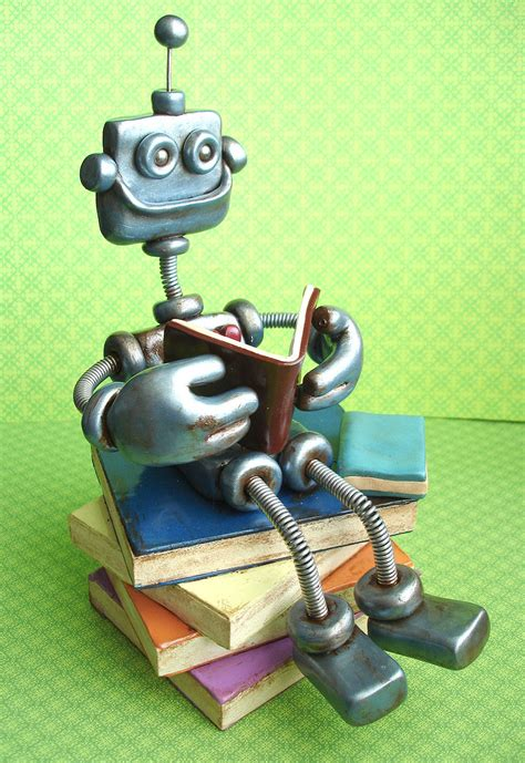 robot reading robot reading how to master your attention and focus your reading speed remember more learn faster and get more done in less time books the rustic robot reading by herartsheloves on deviantart