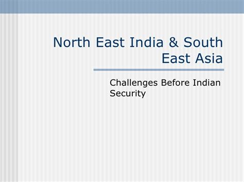 east india indian security