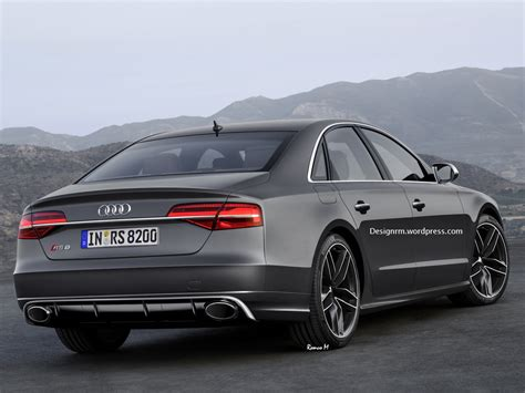 Rs 8 Audi by Audi Rs8 Would Take The Fight To Mercedes S65 Amg Carscoops