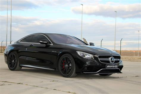mercedes s 63 stunning black on black mercedes s 63 amg coupe