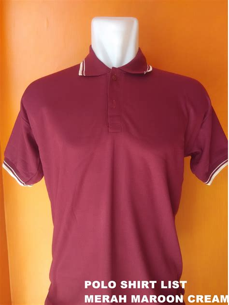 Polo Shirt T Shirt Tshirt Kaos Baju Kerah Pria Nike Logo 1 jual polo shirt merah list baju kaos berkerah t shirt