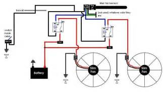 wiring diagram dual spal fans dual electric fan wiring