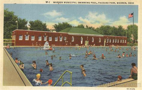 Warren Ohio Municipal Court Records Warren Municipal Swimming Pool Packard Park