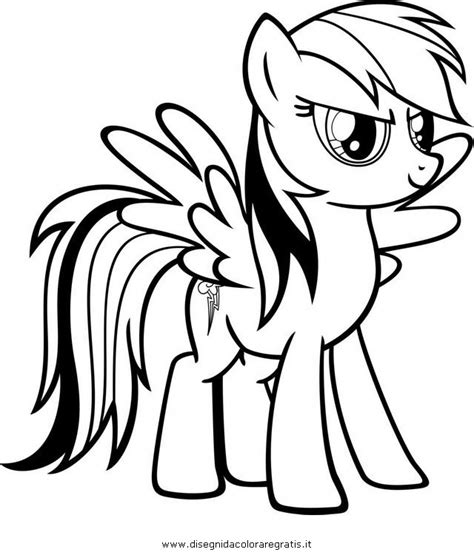 rainbow dash coloring pages getcoloringpagescom