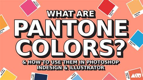 what is pantone color what are pantone colors how to use them in adobe