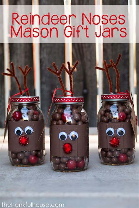 reindeer craft to sell reindeer noses gift jars pictures photos and images for and