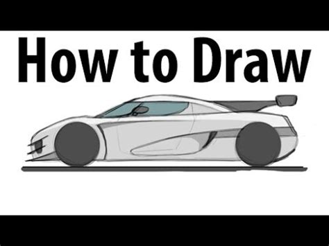 koenigsegg one drawing how to draw a koenigsegg one 1 sketch it quick youtube