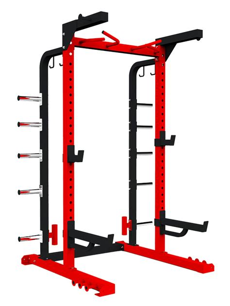Half Rack Fitness Gear by Power Rack Half Fitness Equipment