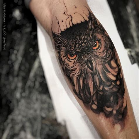 cool owl tattoo designs evil owl forearm by fe rod http tattooideas247 evil