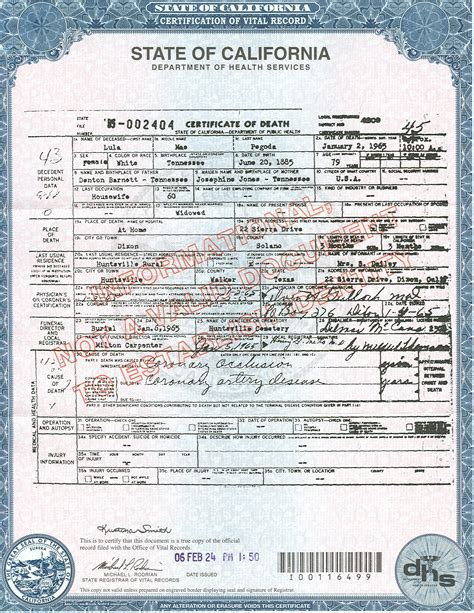 Birth Records Ca Best Photos Of California Birth Certificate Los Angeles County Birth Certificate