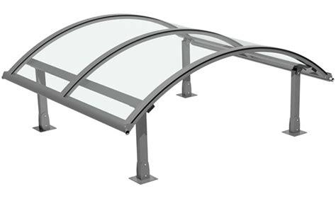 tettoie in plexiglass pensiline plexiglass pergole e tettoie da giardino