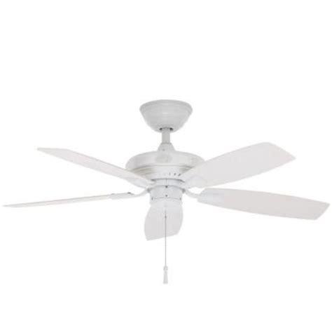 42 outdoor ceiling fan hton bay gazebo ii 42 in white indoor outdoor ceiling fan