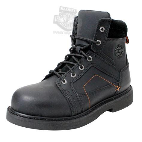 95326 harley davidson 174 mens pete steel toe black low cut