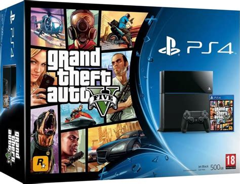 Gta 5 Original Ps4 sony playstation 4 ps4 500 gb with gta 5 bundle price in india buy sony playstation 4 ps4