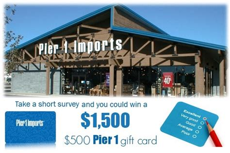 Pier 1 Sweepstakes - pier 1 imports customer experience survey sweepstakes sweepstakesbible