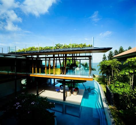 modern mansion in singapore the fish house by guz