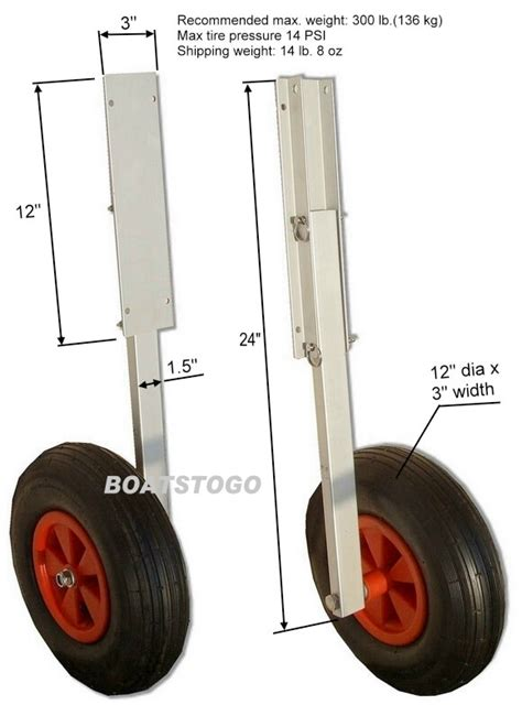 inflatable boat wheels launching transom wheels set for inflatable boat dinghy ebay