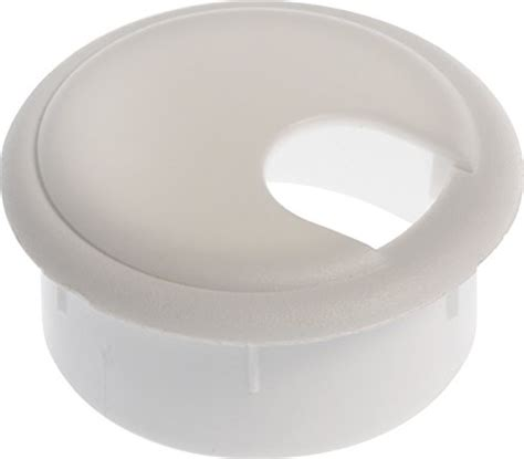 1 25 inch desk grommet the hillman group 59331 1 3 4 inch white grommet with cap